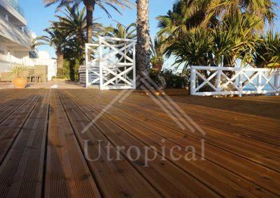suelo de madera para terraza