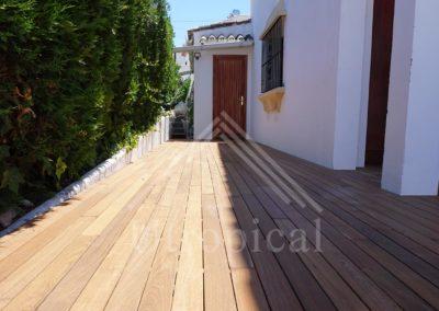 Montaje de suelo tarima de madera Malaga Fuengirola Marbella