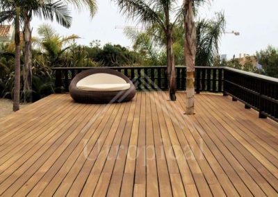 Suelo de madera para terraza de lujo Marbella Malaga