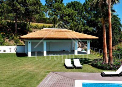 Diseño jardin zona para comer Estilo tropical