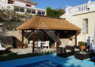 Instalar zona para comer Diseño tropical - Málaga Fuengirola Marbella