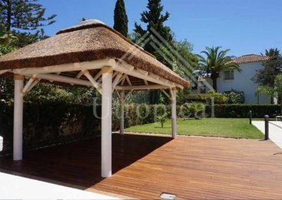 Diseñadores de techos tropicales Instalación en Toda España (Málaga, Madrid, Valencia, Cádiz, Estepona, Marbella)
