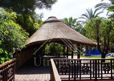 zona jardin techo tropical Malaga Mijas Marbella