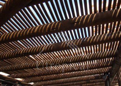 proyecto de pérgolas de madera para jardín