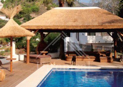instalador de techos tropicales junco en Marbella
