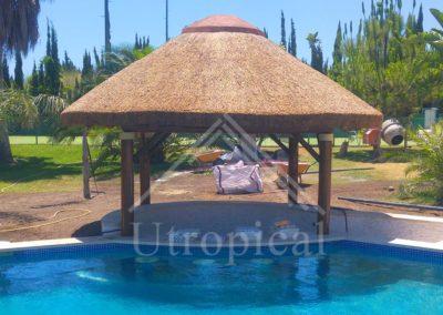 tejado tropicales de junco pergolas Malaga Marbella Mijas