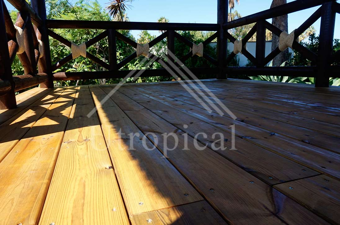 suelo cubierta tropical en Sotogrande