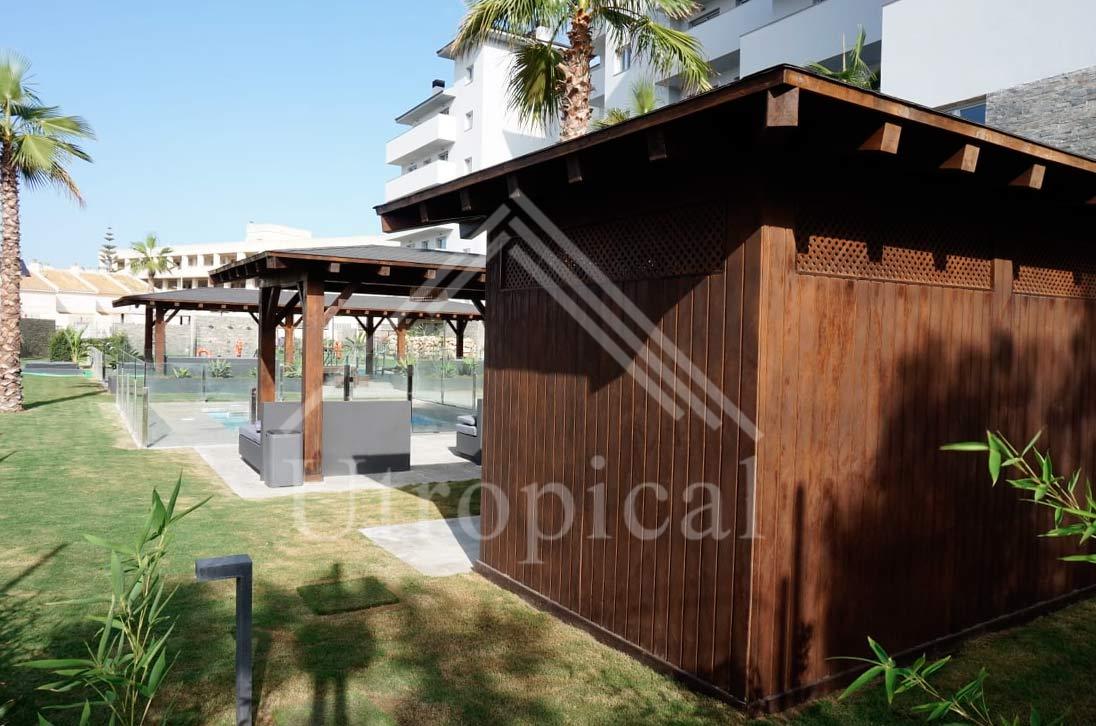 Caseta de madera para urbanización Miramar