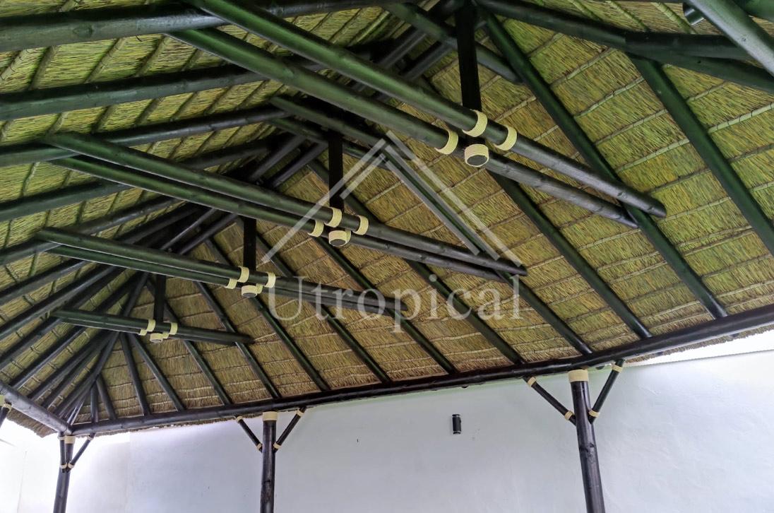 tejado de junco africano en Murcia